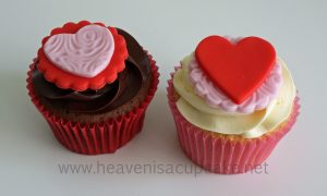 Valentine's Day Cupcake Gifts 2013