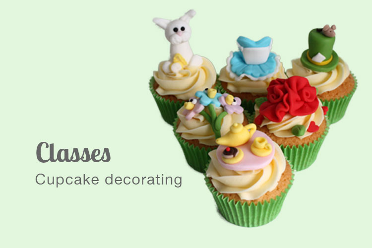 Cupcake decorating classes