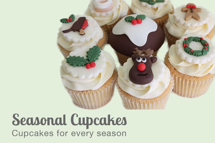 Seasonal Cupcakes