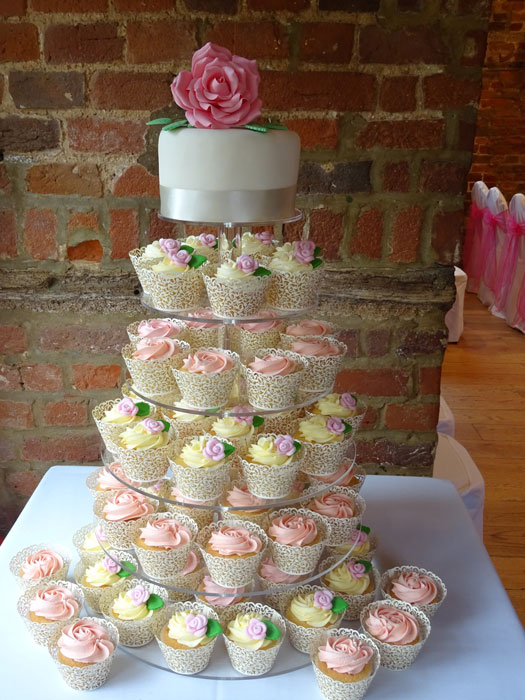 Wedding Cupcakes Towers.Wedding Cupcake Towers Heaven Is A Cupcake St Albans Herts