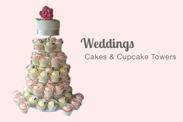 Wedding cakes and cupcake towers