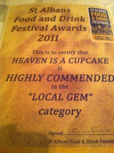 Highly Commended :)