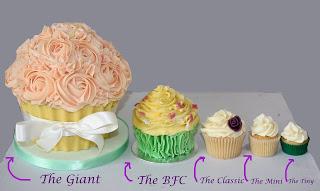 Cupcake Size Chart