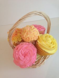 *Cupcake Bouquet Special Offer* Small Basket Bouquet Only £8 – 33% off!